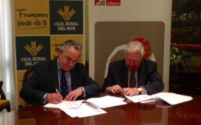 Fundación Adecco y Caja Rural del Sur renuevan su compromiso con las personas con discapacidad en Andalucía