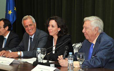 Fundación Caja Rural del Sur firma un convenio con el alcalde de Pozoblanco para apoyar las Ferias del Valle de los Pedroches