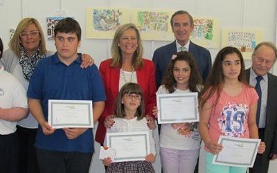 """Entregado los premios del II Concurso de Dibujo """"Los Patios Cordobeses ante la mirada de los niños"""" de Fundación Caja Rural del Sur"""