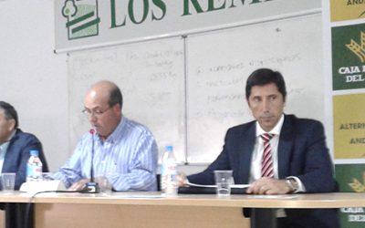 Caja Rural del Sur presenta a la Cooperativa de Olvera sus propuestas financieras para la integración ganadera