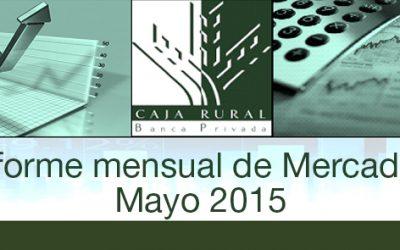 INFORME MENSUAL DE MERCADOS MAYO 2015