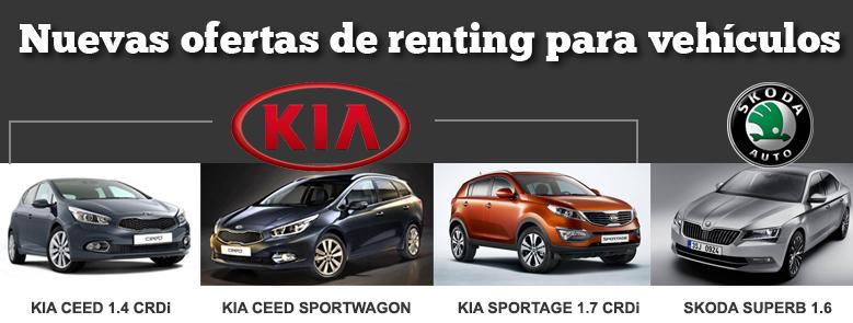 Nuevas ofertas de renting para vehículos en Caja Rural del Sur
