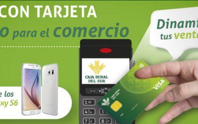 Campaña de Caja Rural del Sur para dinamizar las compras en comercios con tarjetas en TPV´s de la entidad