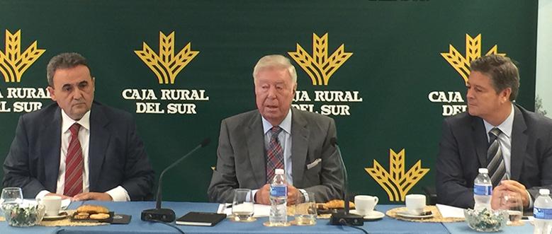 El ministro Luis de Guindos y el expresidente del Gobierno Felipe González participarán en el Foro Económico CRSUR