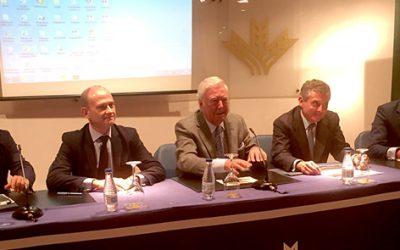 El sector agroalimentario de Huelva informado de la actividad de la agencia que controla la 'cadena alimentaria'