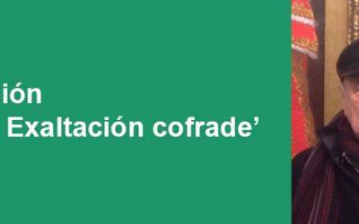 La exposición 'Sevilla. Exaltación cofrade', del pintor Alfonso Aramburu, en la sala de Caja Rural del Sur