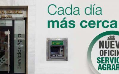 Caja Rural del Sur concentra sus   servicios agrarios en Sevilla en su oficina de la calle Trajano