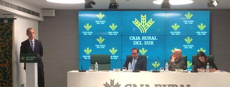FERAGUA celebra su Asamblea General en el nuevo salón de actos de Caja Rural del Sur
