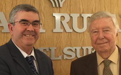 Fundación Caja Rural del Sur respalda la actividad y nuevos proyectos de la cooperativa cordobesa Almazaras de la Subbética