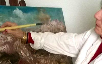 Carmen Redondo  muestra desde este lunes en Huelva  su obra pictórica en Fundación Caja Rural del Sur