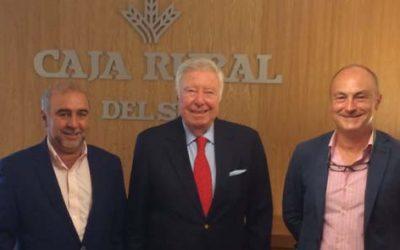 Fundación Caja Rural del Sur y la cooperativa Cereales Sevilla colaborarán en la difusión del cooperativismo en la provincia