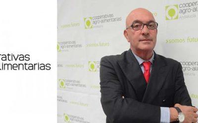 Entrevista al presidente de Cooperativas-agroalimentarias de Andalucía, Juan Rafael Leal Rubio