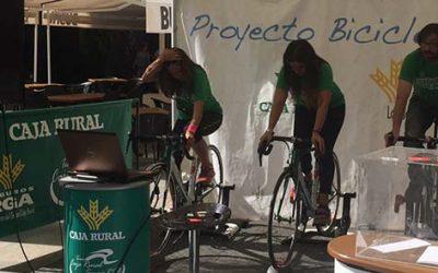 Caja Rural del Sur y Ayuntamiento de El Puerto organizan la 'Bicicleta solidaria' este sábado en la playa de Valdelagrana
