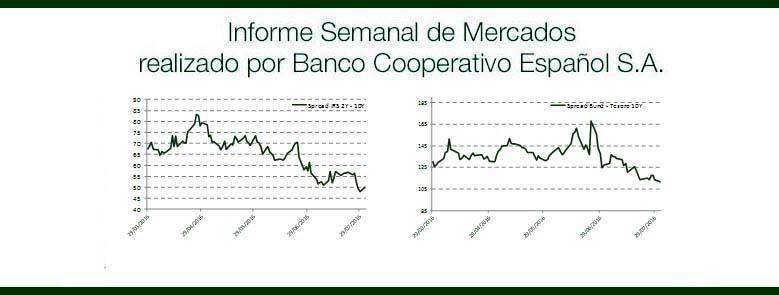 Informe Semanal Mercados 02 de Agosto de 2016