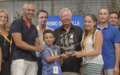 Caja Rural del Sur entrega el premio al mejor caballo en la temporada de Carreras de Sanlúcar de Barrameda