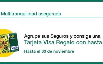 Por agrupar todos los seguros, Caja Rural del Sur y Seguros RGA obsequia con hasta 700 euros en una tarjeta regalo.