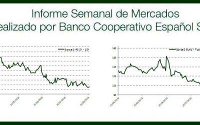 Informe Semanal Mercados 5 de Septiembre de 2016