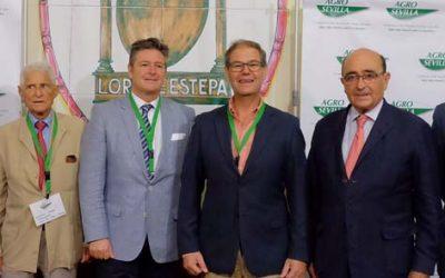 Jornada de trabajo de directivos de Caja Rural del Sur y Agro Sevilla en su sede central de la Roda de Andalucía
