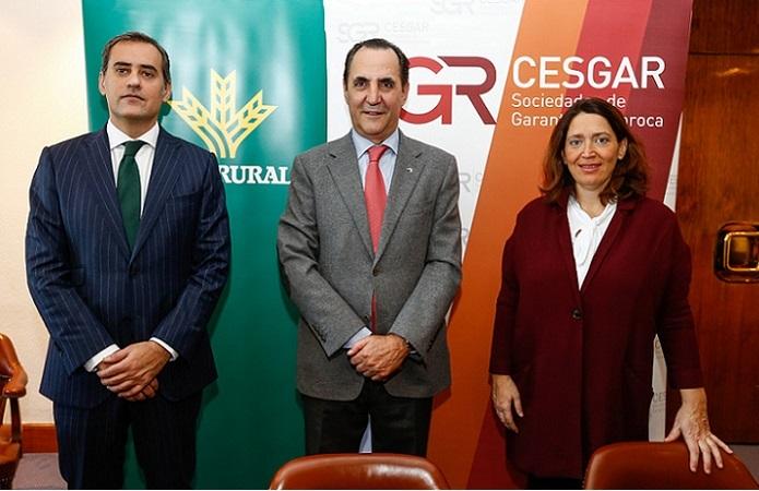 Caja Rural del Sur participa en el acuerdo firmado con las sociedades de garantía, las cajas rurales y el Ministerio de Economía para acercar la financiación empresarial al territorio