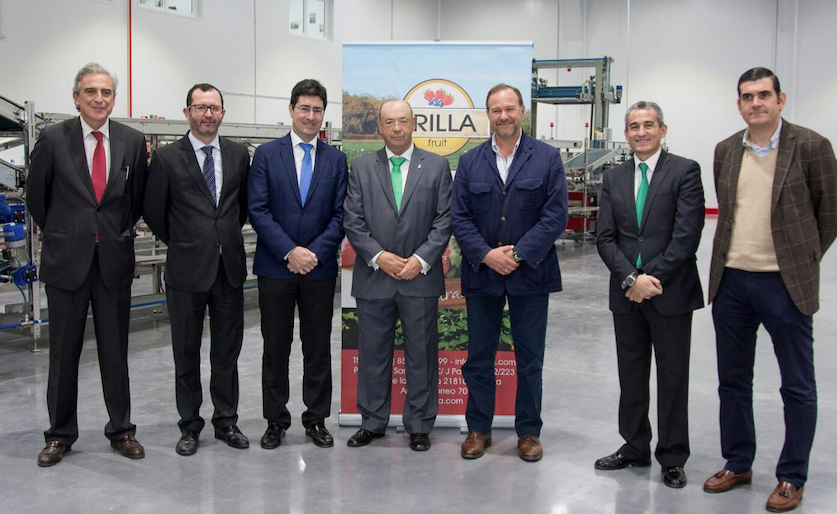 Caja Rural del Sur financia el 50% de las nuevas instalaciones de Erilla Fruit en Palos