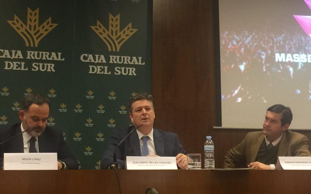 Jornada de balance de '30 años de PAC en España' en la sede de Caja Rural del Sur