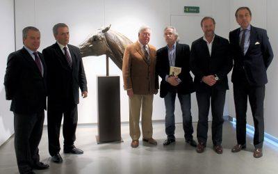 """""""La tauromaquia en el arte"""" del escultor Nacho Martín en Fundación Caja Rural del Sur hasta el 4 de mayo"""
