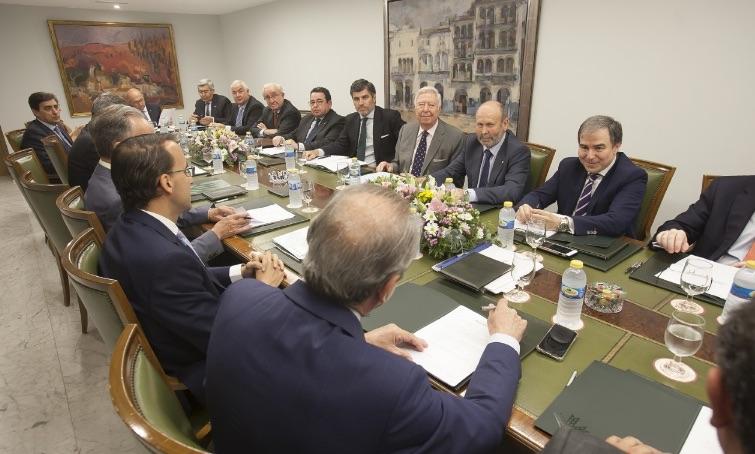 El Grupo Caja Rural celebra en Córdoba la reunión anual de su consejo de administración