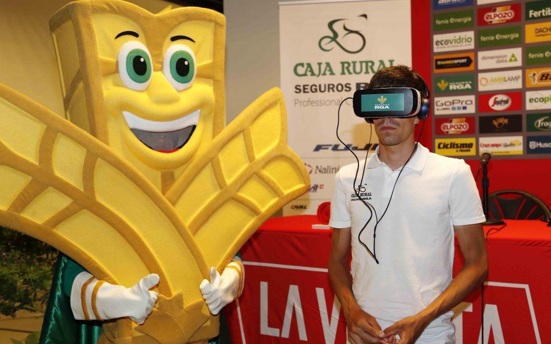 El equipo Caja Rural-Seguros RGA celebra sus 30 años con una experiencia virtual para los aficionados