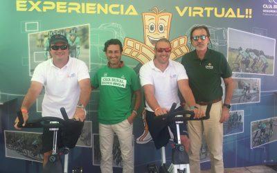 550 kilómetros de pedaladas solidarias con Caja Rural del Sur y RGA Seguros en la meta de la Vuelta en Tomares