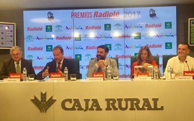 "Presentación de los ""Premios Radiolé 2017"" en Caja Rural del Sur"