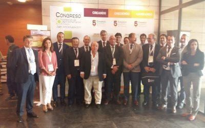Caja Rural del Sur en el 5º Congreso de Cooperativas Agroalimentarias de Andalucía celebrado en Jaén
