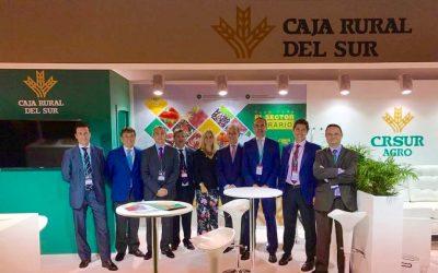 Amplia representación de Caja Rural del Sur en la Feria Fruit Attraction 2017