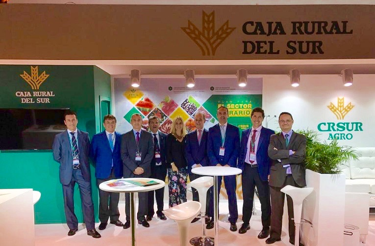 Amplia representación de Caja Rural del Sur en la Feria Fruit Attraction 2017