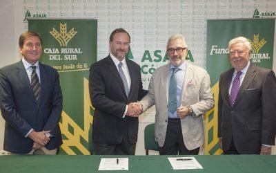 Asaja-Córdoba y Caja Rural del Sur renuevan su colaboración para impulsar y defender la labor del sector agrario y ganadero