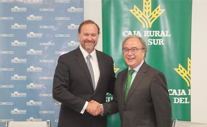 CECO y Caja Rural del Sur cierran un acuerdo de colaboración para impulsar la actividad productiva en Córdoba