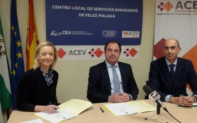 Caja Rural del Sur y la Asociación de Empresarios de Vélez-Málaga (ACEV) estrechan su colaboración