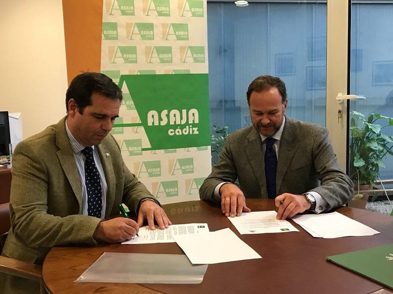 Caja Rural del Sur y Asaja Cádiz renuevan su compromiso con el campo gaditano