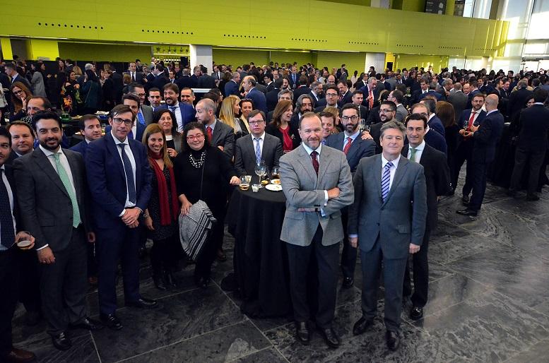 Encuentro de Navidad de Caja Rural del Sur celebrado en Sevilla en la sede de FIBES
