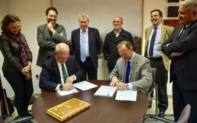 Convenio de colaboración financiera de los empresarios de Cádiz con Caja Rural del Sur