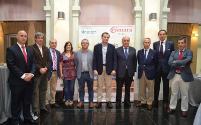 """Jornada de la """"Lonja de Cereales"""" dedicada al garbanzo, con la colaboración de Caja Rural del Sur"""