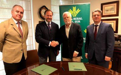 Caja Rural del Sur y Asaja Sevilla renuevan su convenio de colaboración para impulsar y defender la labor del sector agrario