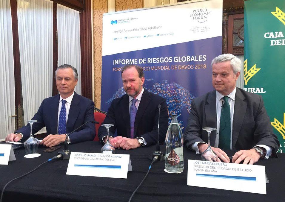 """Presentación del """"Informe de Riesgos Globales 2018 del Foro Económico Mundial de Davos"""""""