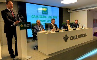 Caja Rural del Sur aprueba las cuentas de 2017 con un 15% de crecimiento del beneficio hasta los 31 millones de euros
