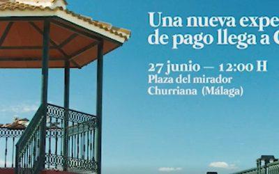 Caja Rural del Sur participa en la promoción de BIZUM desde la localidad de Churriana