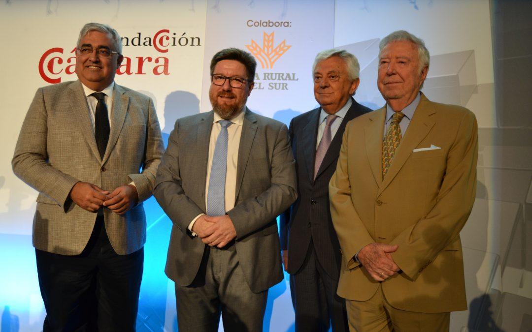 Caja Rural del Sur con el Consejero de Agricultura en el Foro de la Fundación Cámara de Comercio de Sevilla