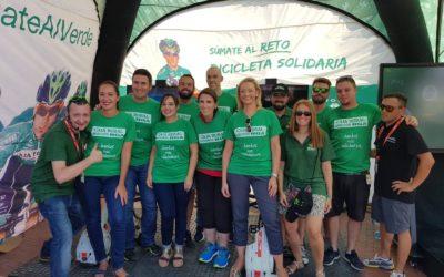 Caja Rural del Sur colabora en Málaga con la 'Bicicleta solidaria' de Seguros RGA