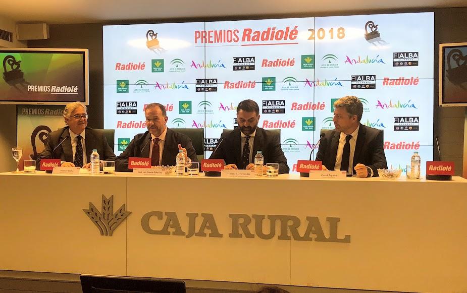 """Los """"Premios Radiolé 2018"""" se presentan en Caja Rural del Sur"""