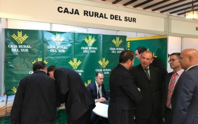 Caja Rural del Sur  en Jerez con la cooperativa farmacéutica Bidafarma