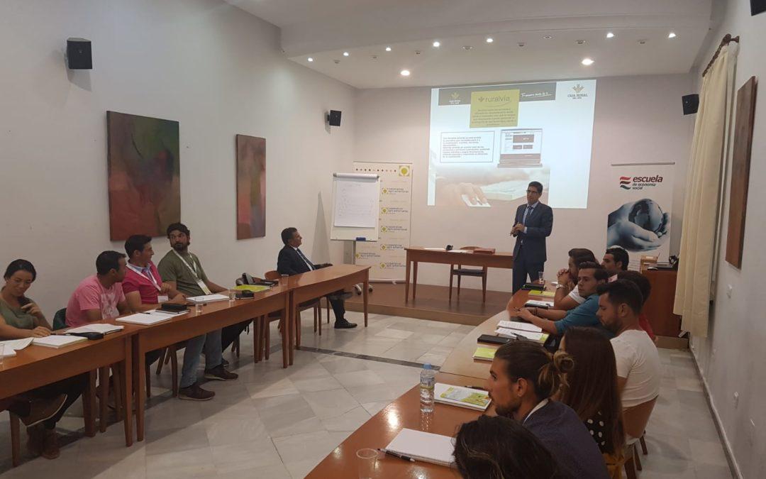 Caja Rural del Sur participa en el I Campus Agroalimentario para Jóvenes Cooperativistas
