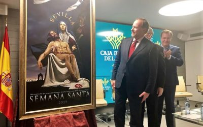 Presentado en Caja Rural del Sur el cartel de la Semana Santa 2019 de Sevilla